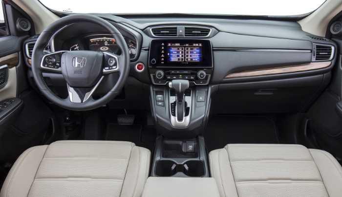 2022 Honda CR-V Interior