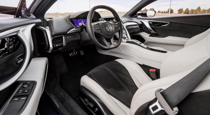 2022 Honda NSX-GT Interior