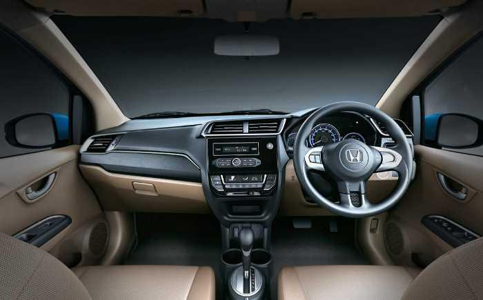 2022 Honda Amaze Interior