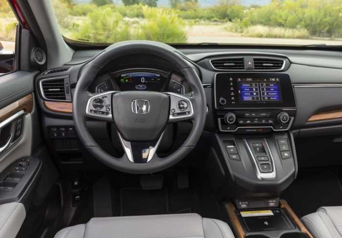 2022 Honda CR-V Touring Interior