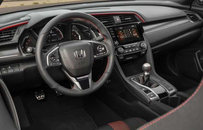 2022 Honda Civic Coupe Interior