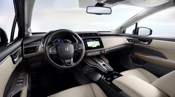 2022 Honda Clarity Hybrid Interior
