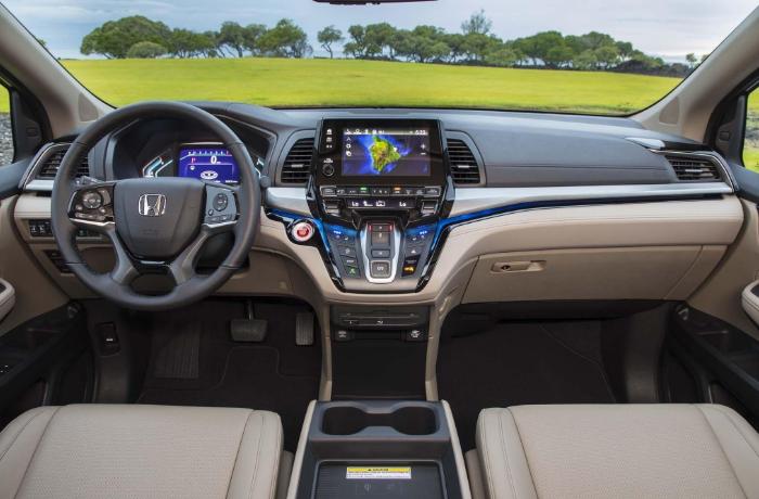 2022 Honda Crosstour Interior