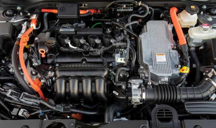 2022 Honda Insight Touring Engine
