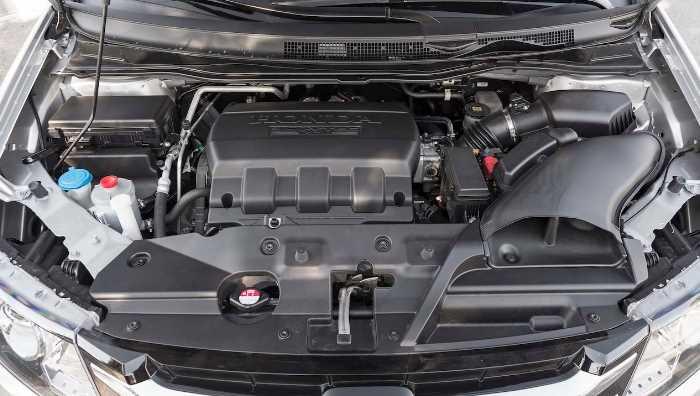 2022 Honda Odyssey Elite Engine
