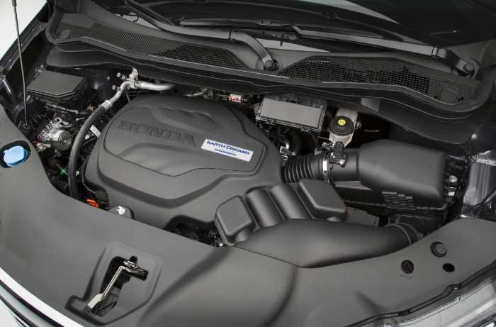 2022 Honda Pilot Touring Engine