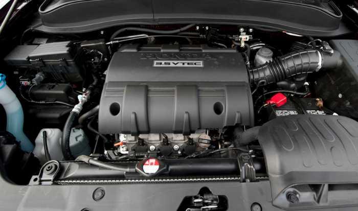 2022 Honda Ridgeline RTL Engine