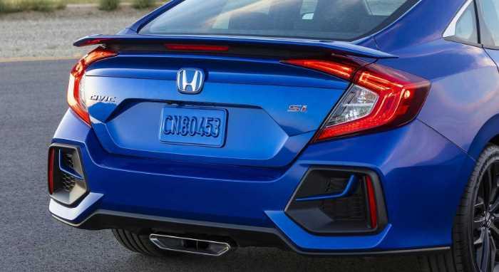 2022 Honda Civic Si Exterior