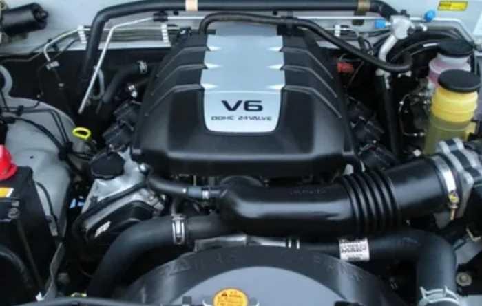 2022 Honda Passport Touring Engine