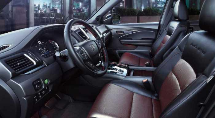 2022 Honda Ridgeline Interior